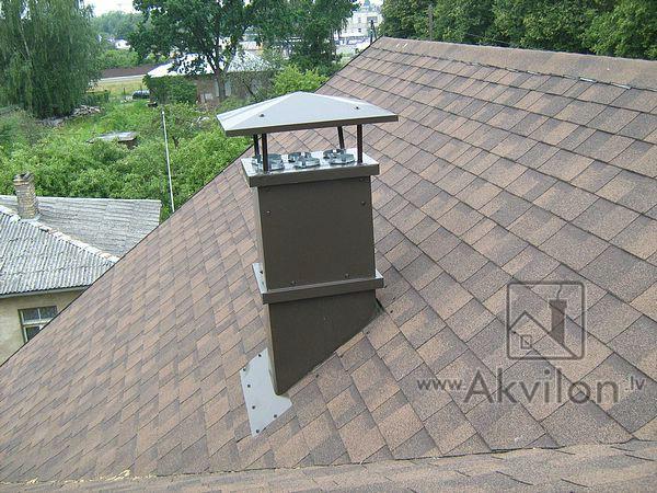 Короб для вентиляции на крышу своими руками 60