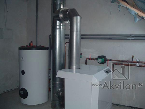 газоотводящие трубы для газовых котельной